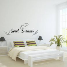 Muursticker slaapkamer Sweet Dreams k251