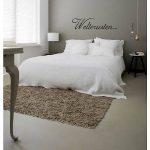 Muursticker slaapkamer Welterusten... D001