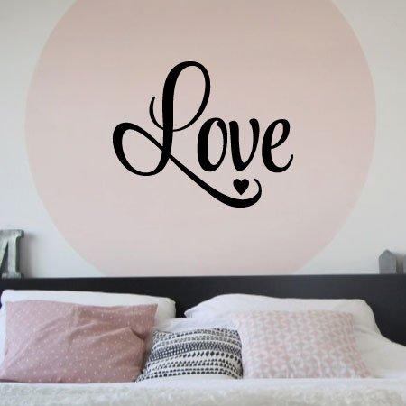 Muurstickers Slaapkamer Love.Muursticker Slaapkamer Love K038 Bino Stickers