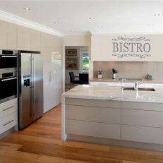 muursticker keuken bistro k001