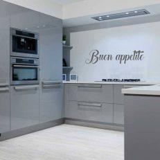 muursticker keuken buon apetite k459
