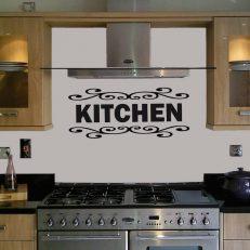 muursticker keuken kitchen k005