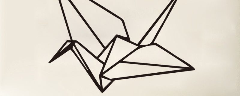 muursticker origami categorie foto