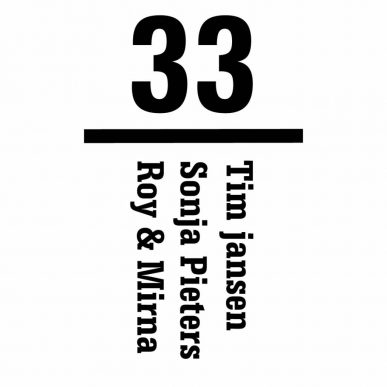 voordeur stickers met eigen namen en huisnummer k318
