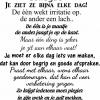 muursticker nederlandse tekst collega's je ziet ze bijna elke dag k158