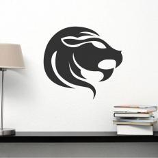 """Muursticker van het sterrenbeeld """"Leeuw"""" voor uw diverse kamers"""