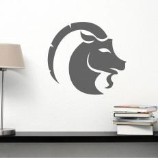 """Muursticker van het sterrenbeeld """"Steenbok"""" voor uw diverse kamers"""