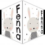 Geboorte raambord konijn fenna