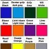 Muursticker kleurenkaart 3