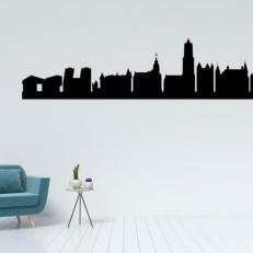 Muursticker Skyline van Utrecht. Mooie muursticker