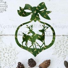 Digitaal Design Kerst Kerstman's Rendieren - SVG download voor Cricut, Cameo, laser cutters, snijplotters, enzovoort