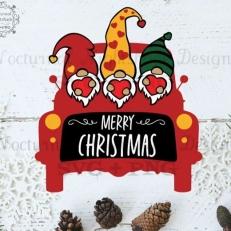 Digitaal Design Kerst Tekst: Merry Christmas – SVG download voor Cricut, Cameo, laser cutters, snijplotters, enzovoort