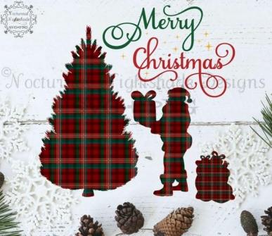 Digitaal Design Kerst Tekst: Merry Christmas – SVG download voor Cricut, Cameo, laser cutters, snijplotters, enzovoort (kopie)