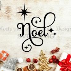 Digitaal Design Kerst Noel - SVG download voor Cricut, Cameo, laser cutters, snijplotters, enzovoort