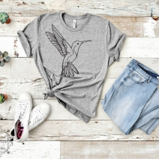 Digitaal Design Dieren Hummingbird Vliegende Kolibrie CF0069