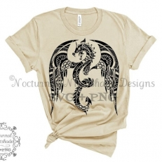 Digitaal Design Fantasy Dragon Draak