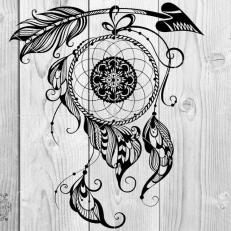 Digitaal Design Spiritualiteit Dromenvanger Pijl
