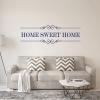 Muursticker Tekst Home Sweet Home K700A B